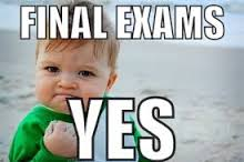 final exams yes